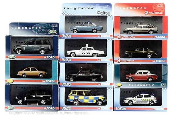 GRP inc Vanguards boxed Cars. No.VA09406