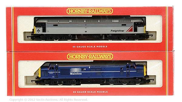 PAIR inc Hornby Railways OO Gauge 2 x Diesel