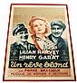 Lilian Harvey Un Reve Blond UFA vintage Poster