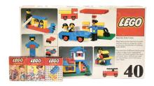 Lego (System) 3 x No.270 - each pack a number