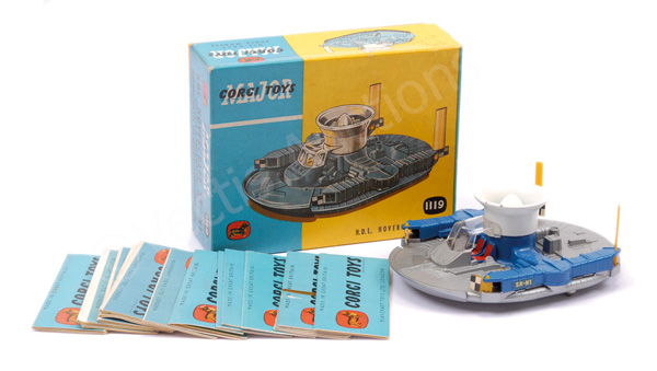 GRP inc Corgi No.1119 Hovercraft - blue, silver