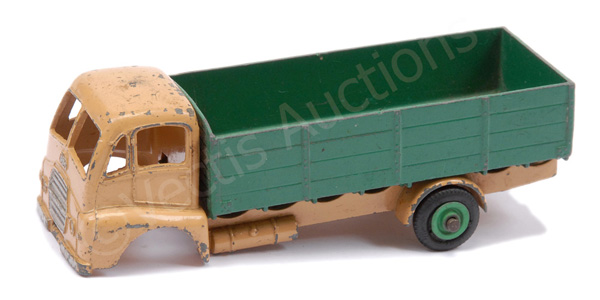 Dinky Guy Warrior Lorry - finished in beige cab