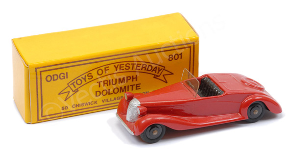 Odgi (Toys of Yesterday) No.801 Triumph Dolomite