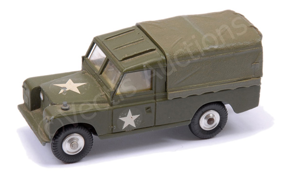 Corgi No.352 Land Rover Military Weapons Carrier