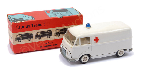 Tekno No.415 Ford Taunus Transit (2nd type)