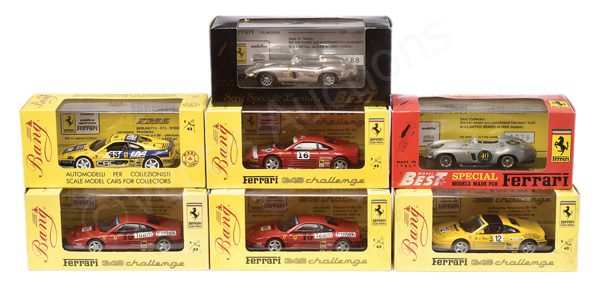 GRP inc Bang/Model Best Ferrari Racing Cars