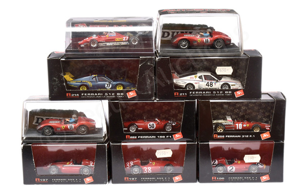 GRP inc Brumm Ferrari Racing Cars No.R222 1506