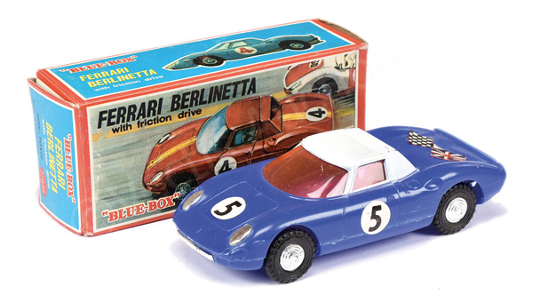Blue-Box No.77832 Ferrari Berlinetta plastic
