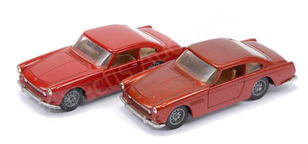 PAIR inc Solido unboxed Ferrari 250GT - red