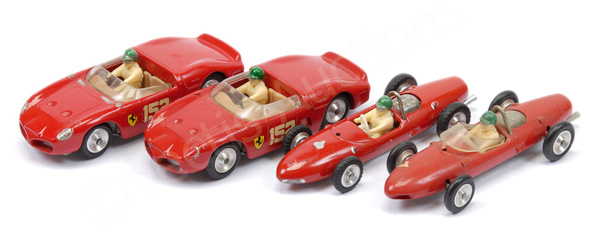 GRP inc Solido unboxed 2 x Ferrari F1 Racing Car