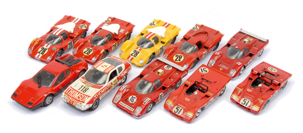 GRP inc Solido Road and Racing Cars Ferrari