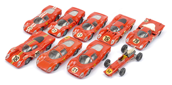 GRP inc Solido unboxed Ferrari Racing Cars F1