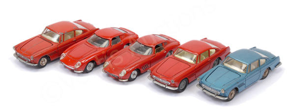 GRP inc French Dinky unboxed Ferrari models