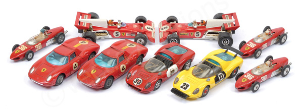 GRP inc Corgi Ferrari unboxed Racing Cars F1