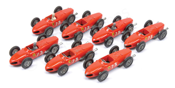GRP inc Matchbox regular Wheel No.73a Ferrari F1