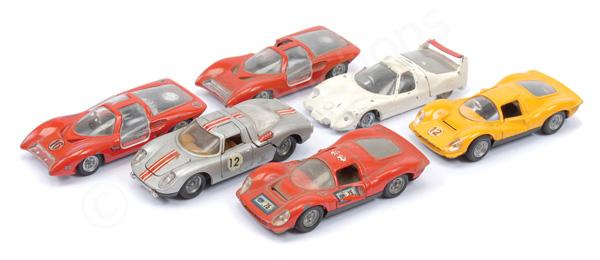 GRP inc Politoys Racing Cars Ferrari P5