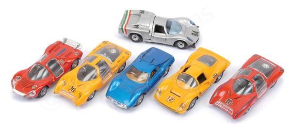 GRP inc Politoys Ferrari Dino Sport
