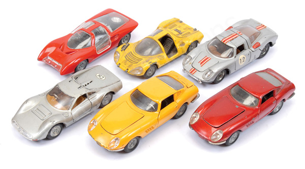 GRP inc Politoys Ferrari 275GTB; Ferrari Dino
