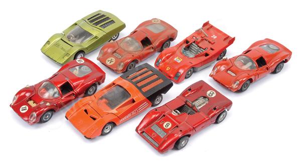 GRP inc Mebetoys unboxed Ferrari 512S; Ferrari
