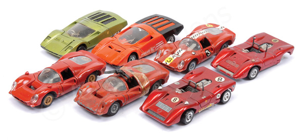 GRP inc Mebetoys Ferrari Can-Am; Ferrari 512S