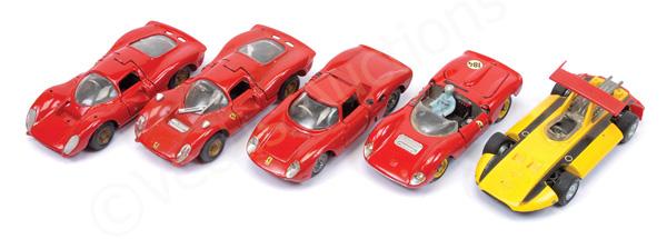 GRP inc Mercury Sigma Grand Prix; Ferrari Dino