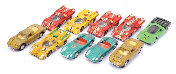 GRP inc Racing Cars Gama Ferrari; Joal 250 Le