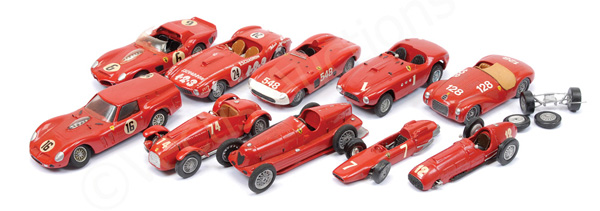GRP inc White Metal/Resin Ferrari models FDS