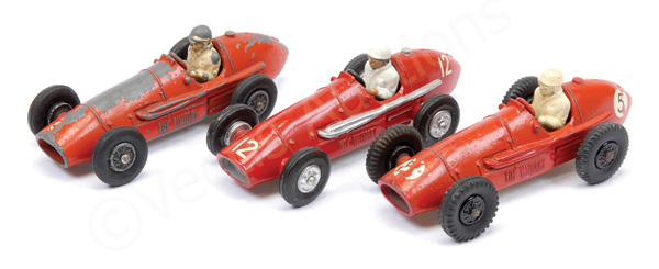 GRP inc Crescent Ferrari Racing Cars - all are