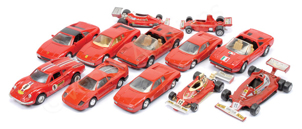GRP inc mainly more recent issue Ferrari Racing