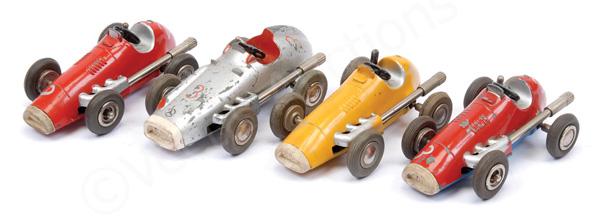 GRP inc Schuco Micro Racer Mercedes - silver