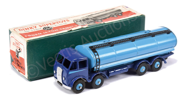 Dinky No.504 Foden (1st type) 14-ton Tanker