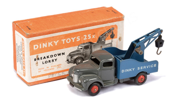 Dinky No.25x Commer Breakdown Lorry