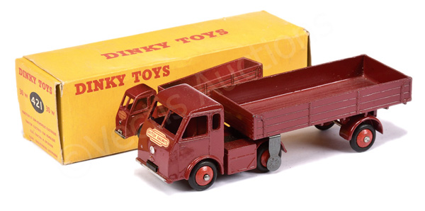 Dinky No.30w (421) Electric Articulated Lorry