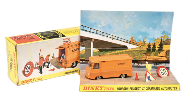 French Dinky No.570a Peugeot J7