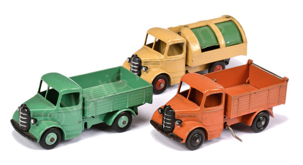 GRP inc Dinky unboxed Bedford Truck - green