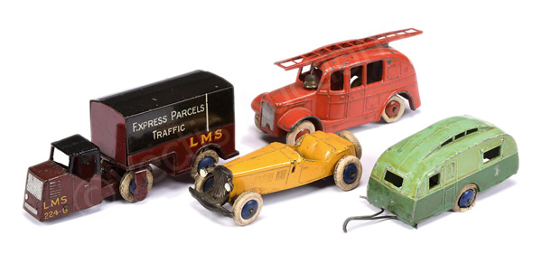 GRP inc Dinky Pre-War Streamlined Fire Engine