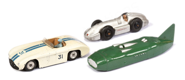 GRP inc Dinky unboxed Cunningham Racer