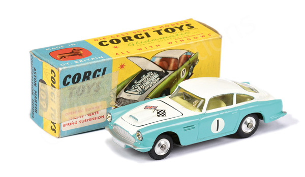 Corgi No.309 Aston Martin DB4