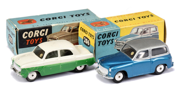 PAIR inc Corgi No.200 Ford Consul Saloon