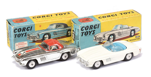 PAIR inc Corgi No.303 Mercedes 300SL - Open