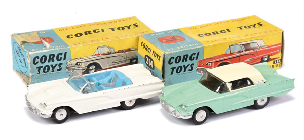 PAIR inc Corgi No.214 Ford Thunderbird Hardtop
