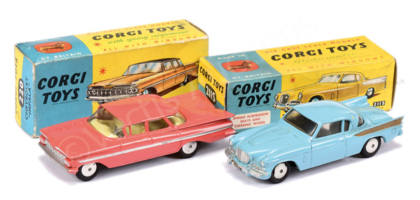 PAIR inc Corgi No.211S Studebaker