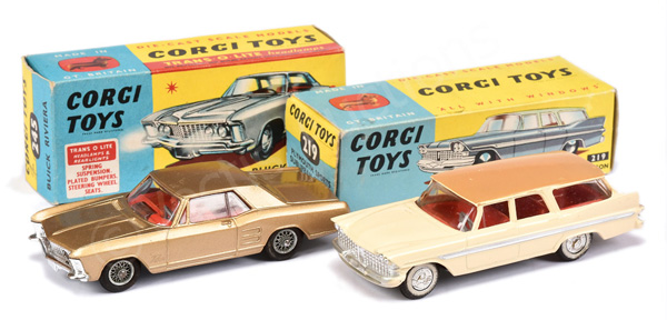 PAIR inc Corgi No.219 Plymouth Sports Suburban
