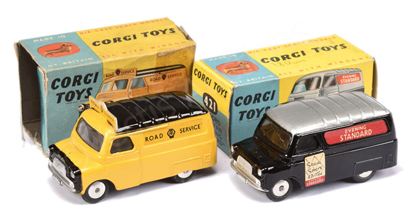PAIR inc Corgi No.408 Bedford