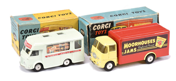 PAIR inc Corgi No.407 Smiths Karrier Bantam