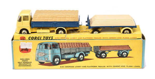 Corgi No.GS11 Gift Set - ERF Dropside Lorry