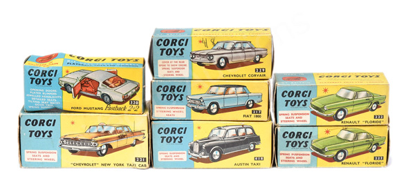 GRP inc Corgi empty boxes No.221 Chevrolet