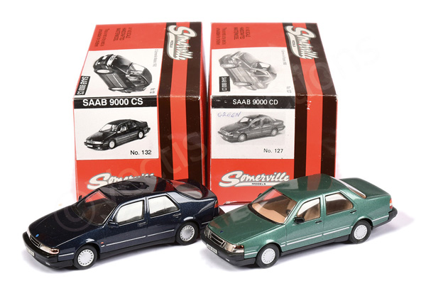 PAIR inc Somerville No.127 Saab 9000 CD - green