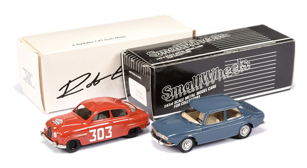 PAIR inc Rob Eddie (Brooklin Models) No.3X Saab