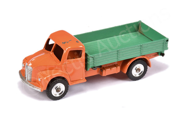 Dinky No.30m/414 Dodge Dump Truck - orange cab
